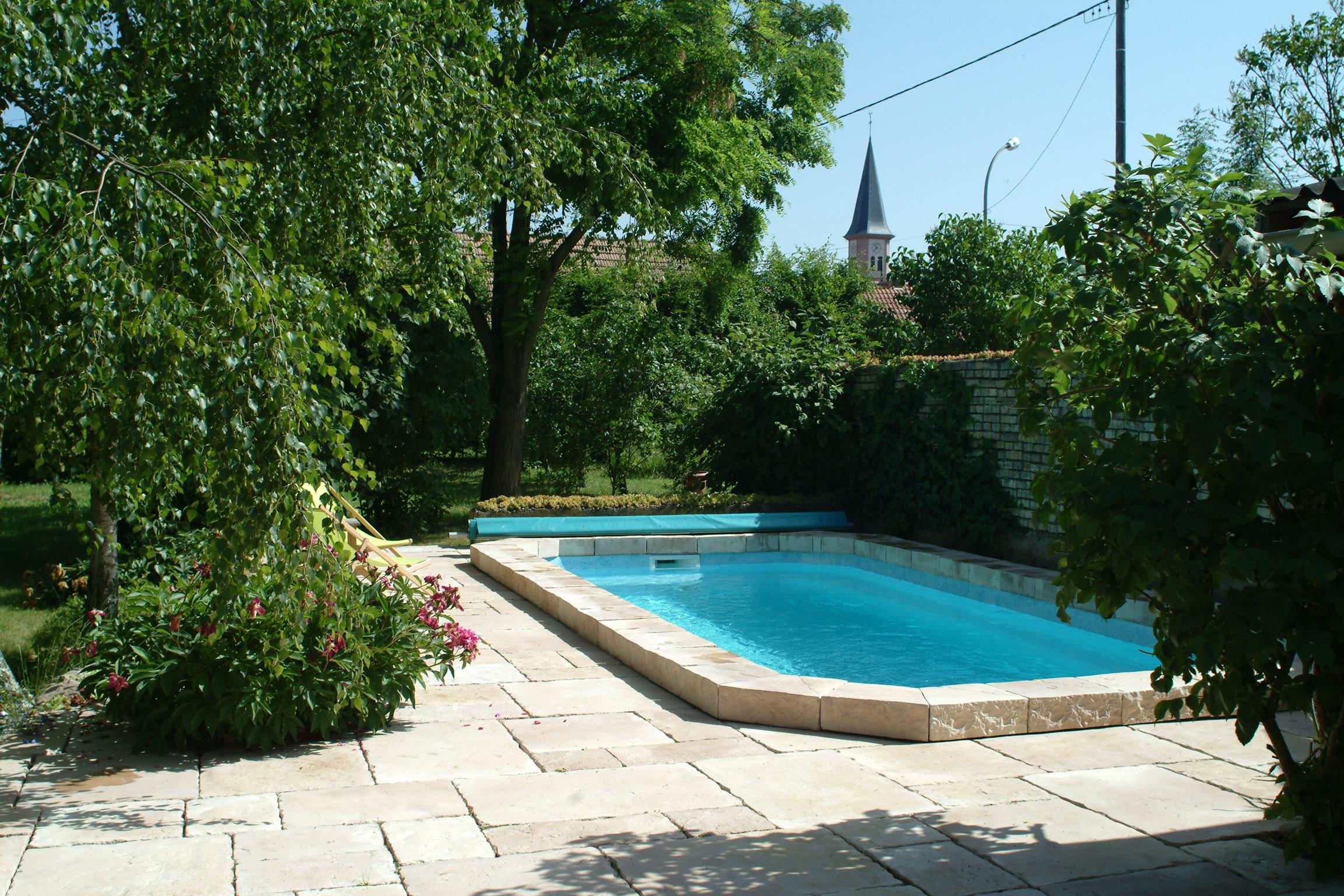 Le Séchoir du Ried - La piscine