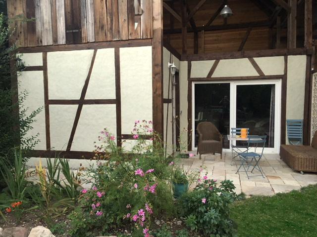 Le Séchoir du Ried - La terrasse